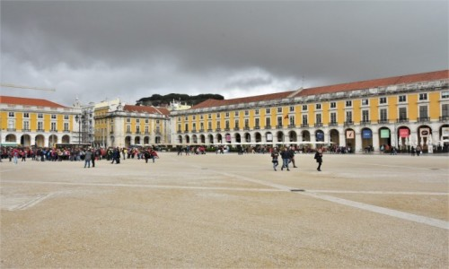 Zdjecie PORTUGALIA / Stolica / Lizbona / Lizbona, Comercio Plaza