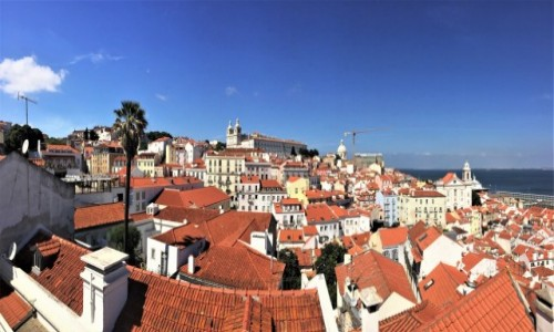 PORTUGALIA / - / Lizbona / panoramicznie...