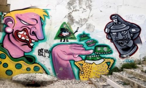 Zdjęcie PORTUGALIA / - / Lizbona / street art...