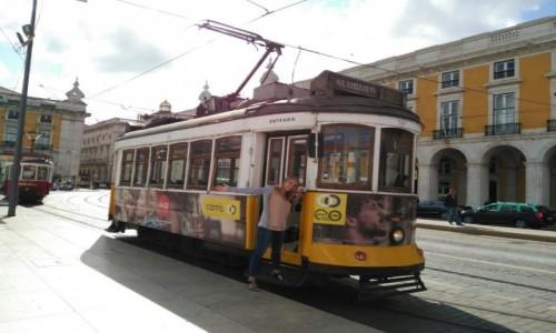 Zdjecie PORTUGALIA / Lizbona / Praca Do Comercio / Symbol