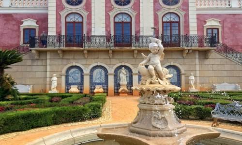 Zdjecie PORTUGALIA / Algarve / Estoi / Palacio de Estoi...