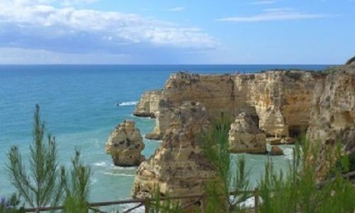 Zdjecie PORTUGALIA / Algarve / Praia da Marinha / Plaża Praia da Marinha
