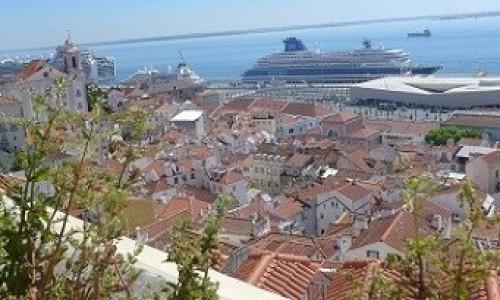 Zdjecie PORTUGALIA / Lizbona / Lizbona / Lizbona z góry