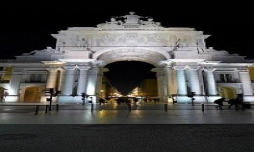 Zdjecie PORTUGALIA / Lizbona / Lizbona / Lizbona nocą