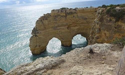 Zdjecie PORTUGALIA / Algarve / Praia da Marinha / Wybrzeże Atlantyku