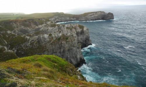 Zdjecie PORTUGALIA / Azory / Ribeira Grande / Burzliwe wody Ribeira Grande