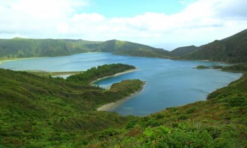 Zdjecie PORTUGALIA / Azory / Sao Miguel / Lagoa do Fogo
