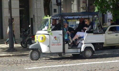 Zdjecie PORTUGALIA / Lizbona / Lizbona / Marszrutka w Lizbonie