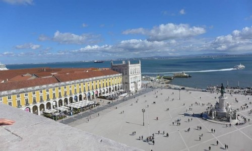 Zdjecie PORTUGALIA / Lizbona / Lizbona / Praça do Comércio (Plac Handlowy) Lizbona