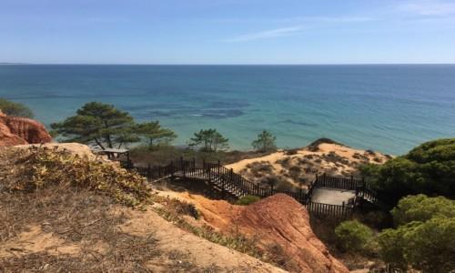 PORTUGALIA / Algarve / Playa Falesia  / Rajskie widoki