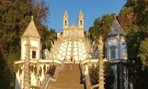 Zdjecie PORTUGALIA / Północ / Braga - Sankturium BomJesus do Monte / Wpisano na listę UNESCO