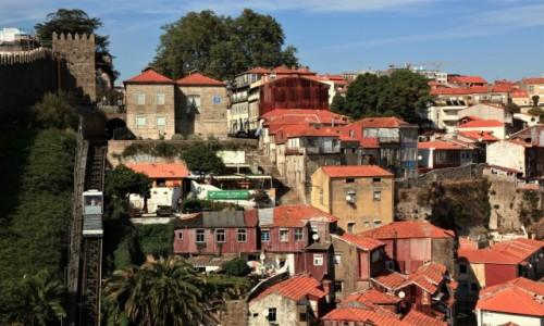 Zdjecie PORTUGALIA / Porto / . / Funicular dos Guindais