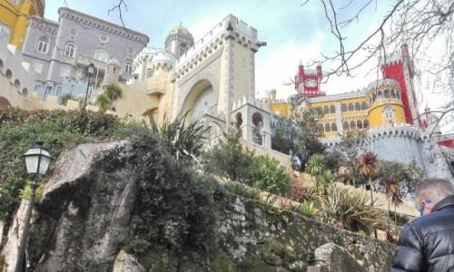 PORTUGALIA / Lizbona / Sintra / Pałac Pena