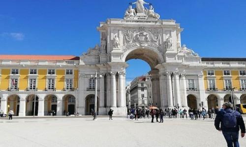 Zdjecie PORTUGALIA / Lizbona / Lizbona / Łuk Triumfalny przy Placu Handlowym