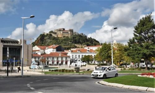 PORTUGALIA / Środkowa Portugalia / Leiria / Leiria, widok na zamek