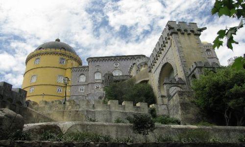 PORTUGALIA / brak / Sintra / pałac Pena1