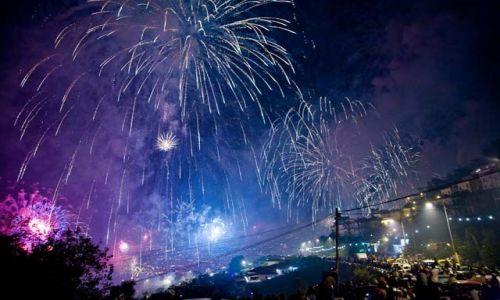 Zdjęcie PORTUGALIA / Madera / Funchal / Pokaz fajerwerków