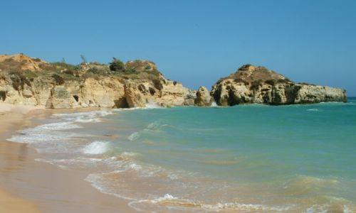 Zdjęcie PORTUGALIA / Algarve / Albufeira / plaża