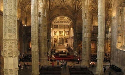 Zdjecie PORTUGALIA / brak / Lizbona / klasztor Hieronimitów 3