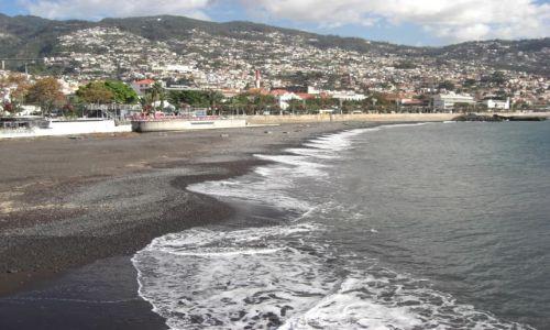 Zdjęcie PORTUGALIA / brak / Madeira - Funchal / Plaża Funchal