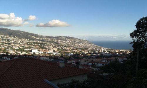 Zdjecie PORTUGALIA / brak / Madeira - Funchal / Jeszcze jedno zdjęcie miasta Funchal