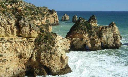 Zdjecie PORTUGALIA / Algarve / Praia da Rocha / Pla�e Portugali