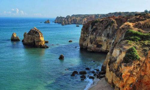 Zdjęcie PORTUGALIA / Algarve / Lagos / Klify Algarve