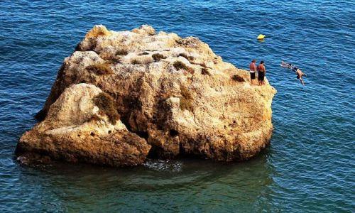 Zdjecie PORTUGALIA / Algarve / Lagos / No to hop!