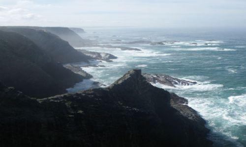 Zdjecie PORTUGALIA / Alentejo / Parque Natural do Sudoeste Alentejano e Costa Vicentinantinantina / Klify