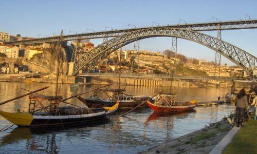 Zdjecie PORTUGALIA / Douro / Porto / Ponte dom Luis