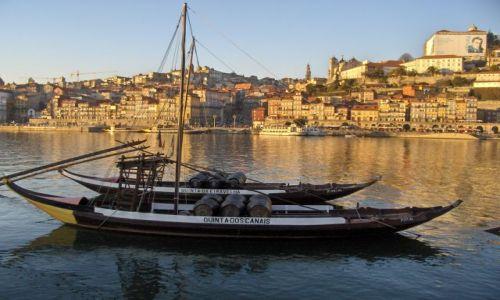 Zdjęcie PORTUGALIA / Douro / Porto / Łódki na Douro