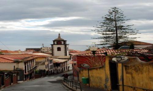 Zdjecie PORTUGALIA / Madera / Funchal / Miasto nad oceanem