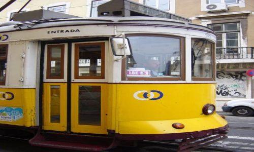 Zdjecie PORTUGALIA / brak / Lizbona / Tramwaj