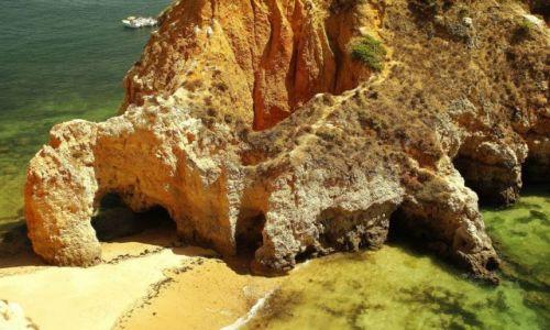 Zdjęcie PORTUGALIA / Algarve / Playa da Rocha / Kolory lata