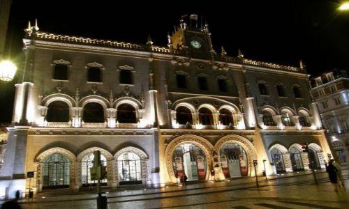 Zdjecie PORTUGALIA / Lisbona / Lisbona / Dworzec Rossio