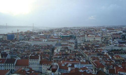 PORTUGALIA / brak / Lizbona / Panorama Lizbony