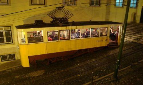 PORTUGALIA / brak / Lizbona / Funicular