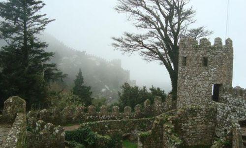 Zdjecie PORTUGALIA / brak / Sintra / Castelo dos Mouros