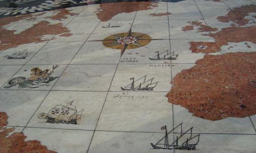 PORTUGALIA / brak / Lizbona / Belem plac-pamiątka wielkich wypraw