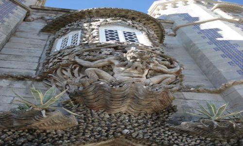 Zdjecie PORTUGALIA / Lizbona / Sintra / Gnom z Sintry