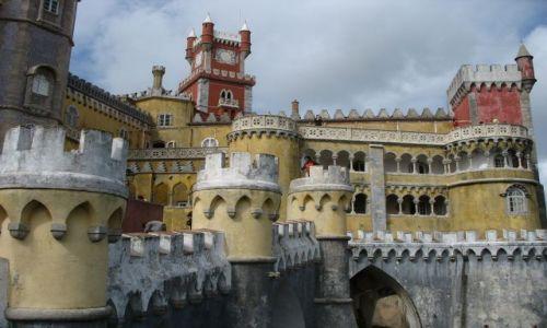 Zdjęcie PORTUGALIA / Sintra / Sintra / BAjkowe