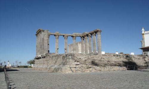 Zdjecie PORTUGALIA / Evora / Evora / Evora - tzw. świątynia Diany