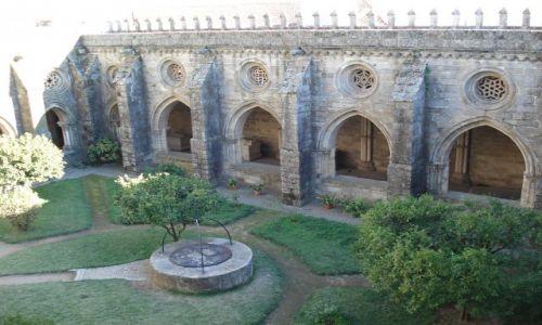 Zdjecie PORTUGALIA / Evora / Evora / Wirydarz katedry w Evorze