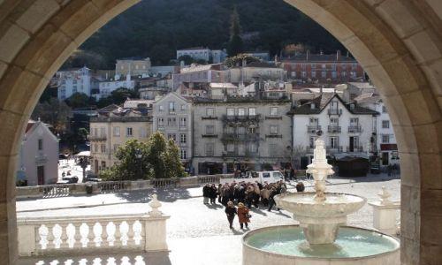 Zdjecie PORTUGALIA / Lizbona / Sintra / Sintra - miasteczko