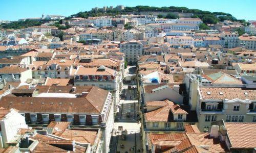 Zdjecie PORTUGALIA / Lizbona / Lizbona / Lizbona z Elevador de Santa Justa