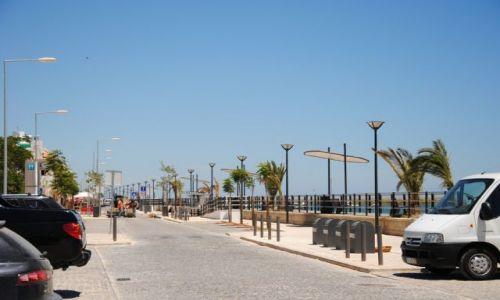 PORTUGALIA / Algarve / Cabanas / Deptak