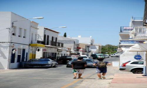 PORTUGALIA / Algarve / Cabanas / Uliczki Cabanas