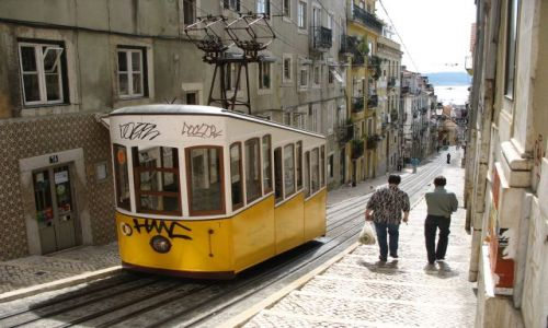 Zdjecie PORTUGALIA / Lizbona / Lizbona / góra-dół