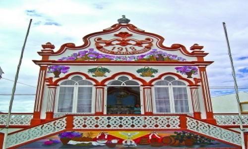 PORTUGALIA / Azory / Terceira, Angra do Heroismo  / Kapliczka Império do Espírito Santo de São Sebastião