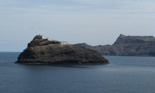 Zdjecie REPUBLIKA ZIELONEGO PRZYLĄDKA / Wyspy Zielonego Przyladka / w poblizu Mindelo / Wyspa oprawiona w blekit